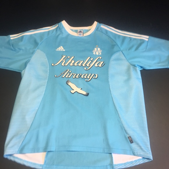 Adidas Soccer Jersey Marseilles Olympique Vintage GqzSMUVp